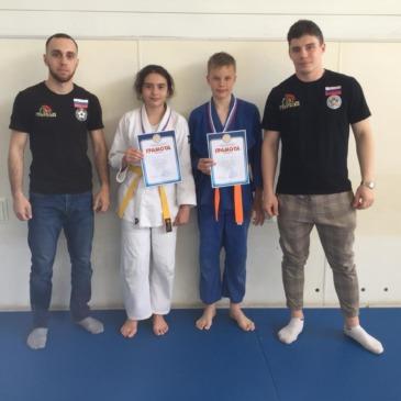 Тибилашвили Камилла, Васягин Егор, победители Классификационного турнира по дзюдо г.Краснодар