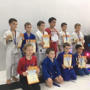Победители и призеры открытого турнира по дзюдо на призы СК «Виктория»