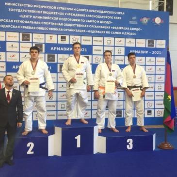 Валиев Влад занял третье место в Первенстве Краснодарского края по дзюдо до 18 лет.